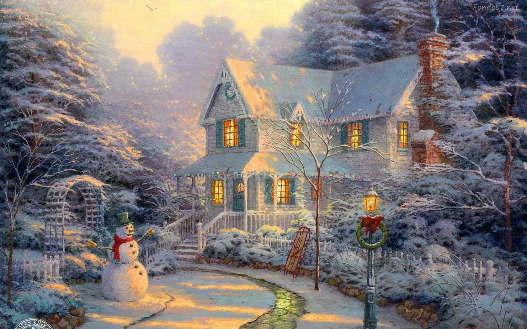 Imagenes Para Poner De Fondo De Pantalla En Navidad