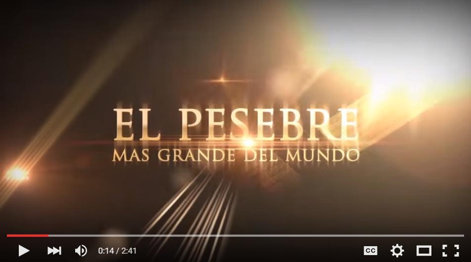 El Pesebre Mas Grande del Mundo en Bucaramanga 2015
