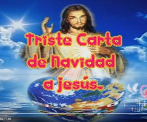 Mensajes para Navidad, Carta a Jesus para Navidad