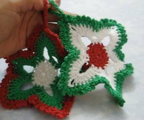 Adornos De Navidad Tejidos A Crochet Paso A Paso En Español