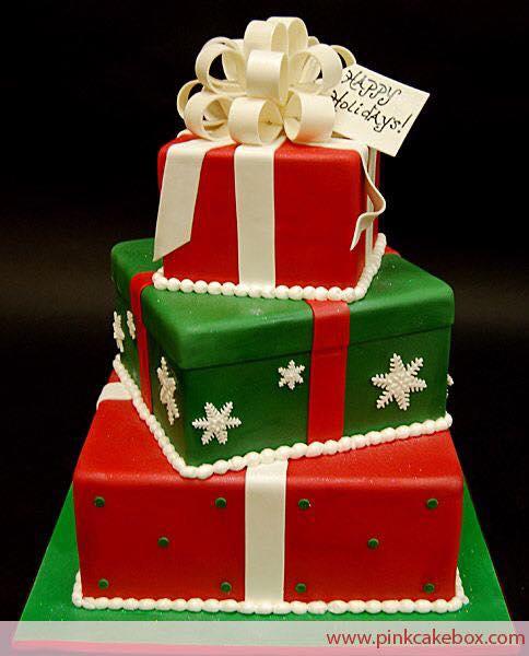 Ideas para ponques de navidad