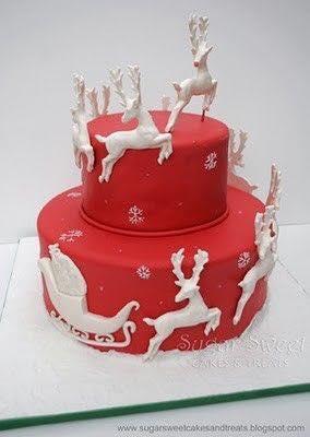 Ideas para tortas de navidad