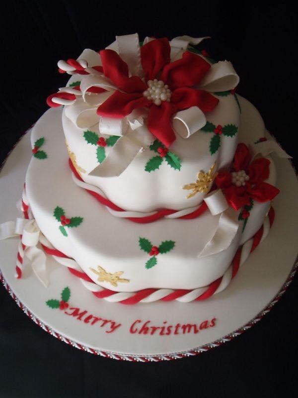 Imagenes de pasteles navideños