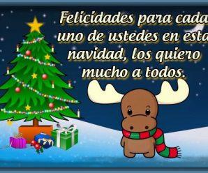 Imagenes Con Bonitos Mensajes de Feliz Navidad