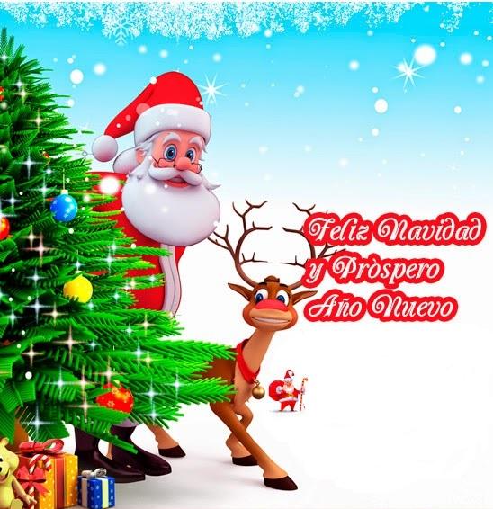 Imagenes con mensajes cortos de feliz navidad y prospero - Mensajes de feliz navidad ...