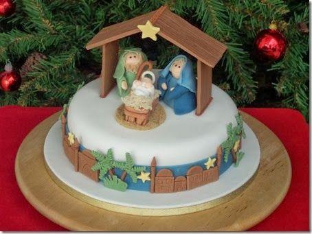 Imagenes con ideas para hacer el pastel navideño