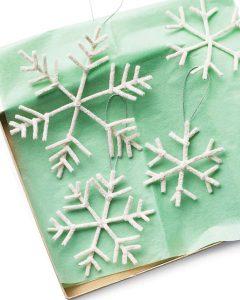Ornamento de copo de nieve