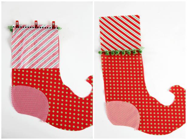 decoracion para navidad bota elfo