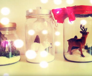 Manualidades for Como hacer decoraciones navidenas