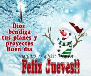 Imagen Gif Feliz Jueves En Navidad