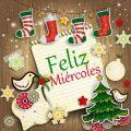 Imagen navideña Feliz Miercoles