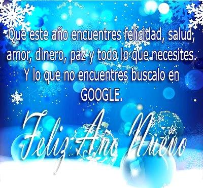 Mensaje de feliz año nuevo para mis amigos en el facebook