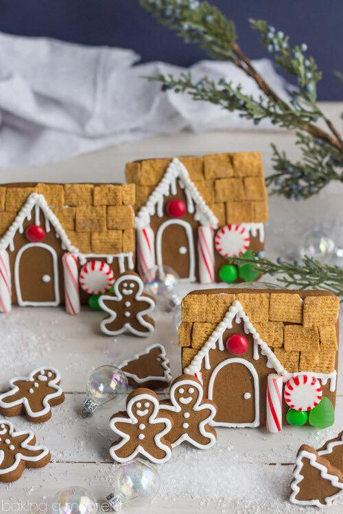 ideas de galletas y decoraciones de ponques para navidad