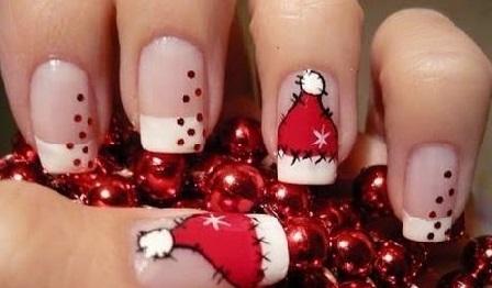Cómo Decorar Tus Uñas Para La Navidad