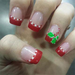 ideas-para-decorar-tus-unas-en-navidad