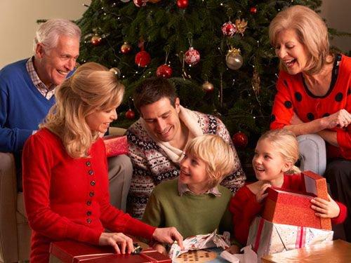 como celebrar la navidad en familia