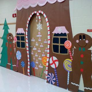 Decoración navideña para aulas infantiles