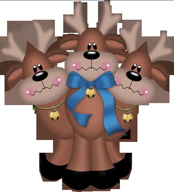 imagenes renos navideños