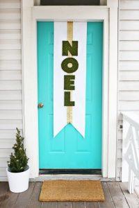 bienvenido-navidena-para-la-puerta