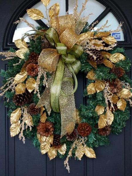 Imagen de corona de navidad ideas para decorar