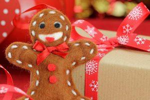 Manualidad galleta navideña
