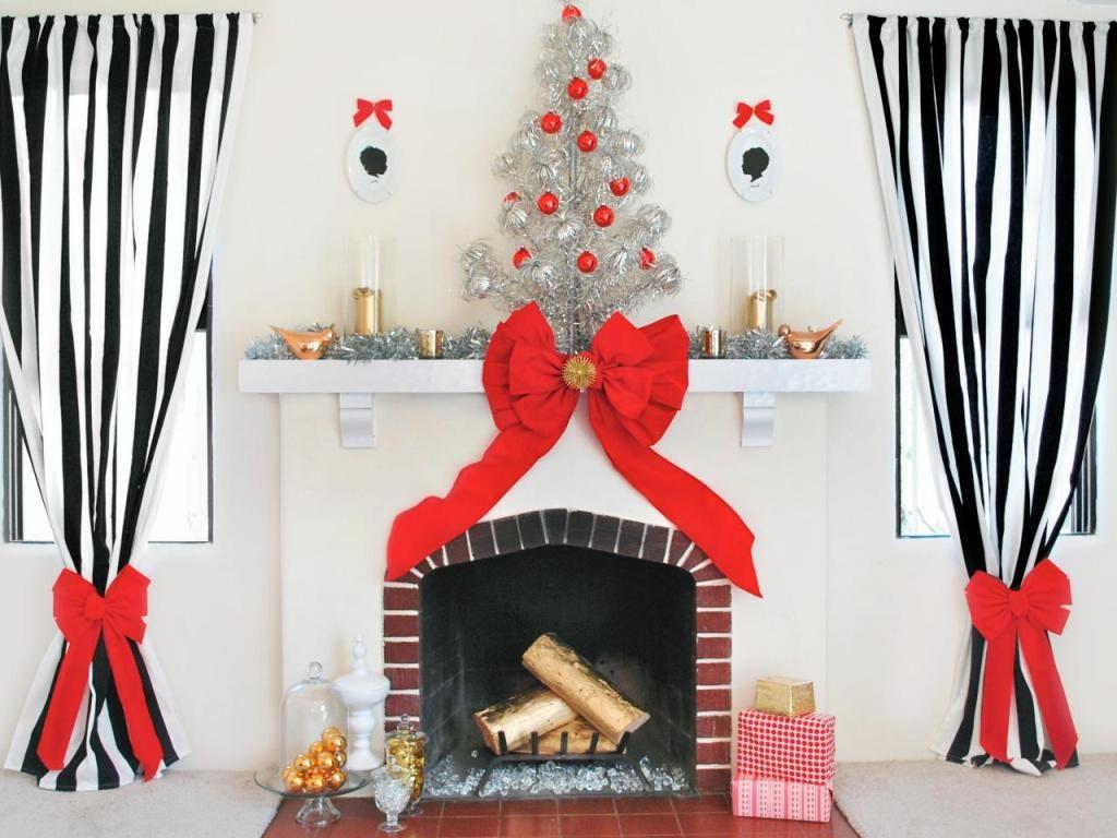 ideas-para-decoracion-navidena-de-la-chimenea