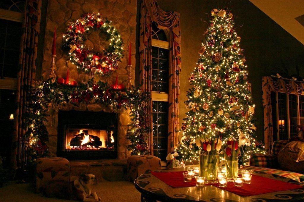 ideas-para-decorar-la-chimenea-en-navidad