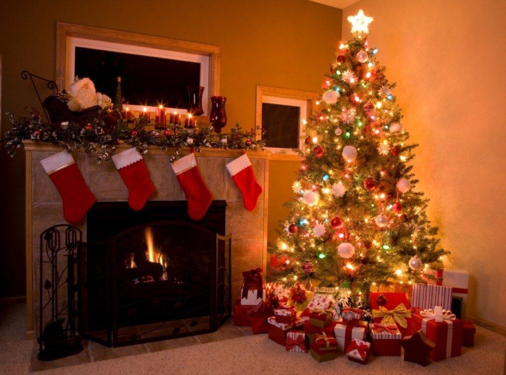 imagenes-con-decoraciones-navidenas-para-la-chimenea