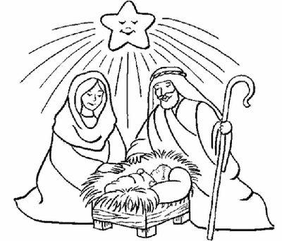 Imagenes Para Colorear De Nacimientos De Jesus De Nazareth