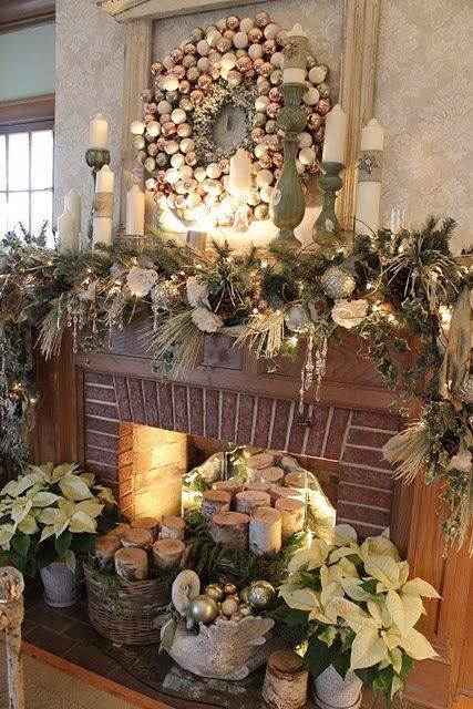 Imagen decoración navideña