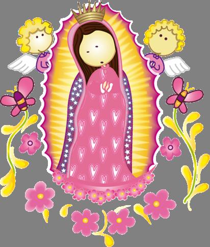 Imagenes De La Virgen De Guadalupe En Caricatura