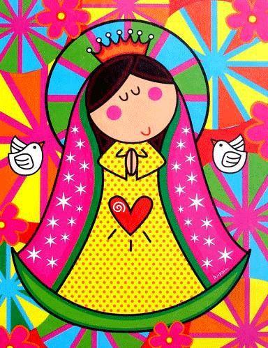 Imagenes animadas de la virgen de Guadalupe