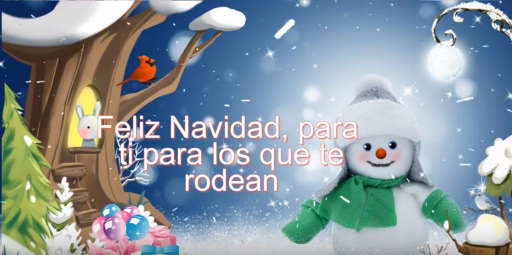 Lindo Video Con Mensaje De Navidad Para Enviar Por WhatsApp