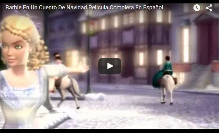 Barbie En Un Cuento De Navidad Pelicula Completa En Español