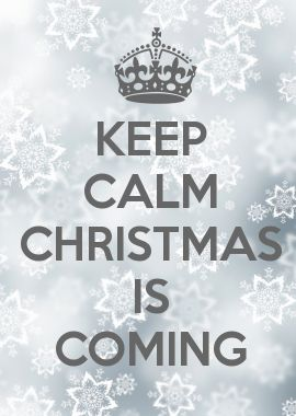 Imagenes Keep calm christmas is coming