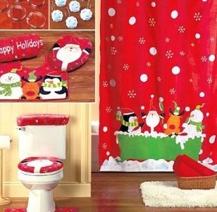 Ideas Para Decorar El Baño En Navidad