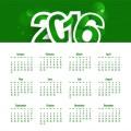 Calendario de año nuevo 2016