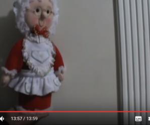 Manualidades Paso a Paso En Fieltro Señora Claus