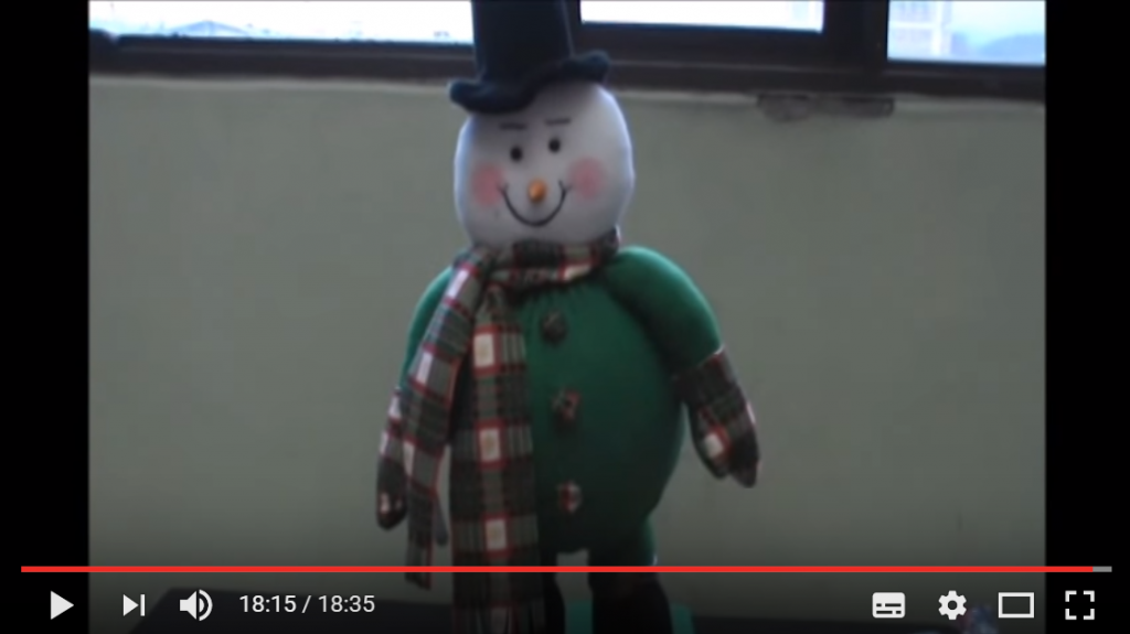 Como Hacer Un Muñeco De Nieve En Tela Fieltro