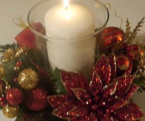 Aprende Cómo Hacer Un Centro De Mesa Para Navidad
