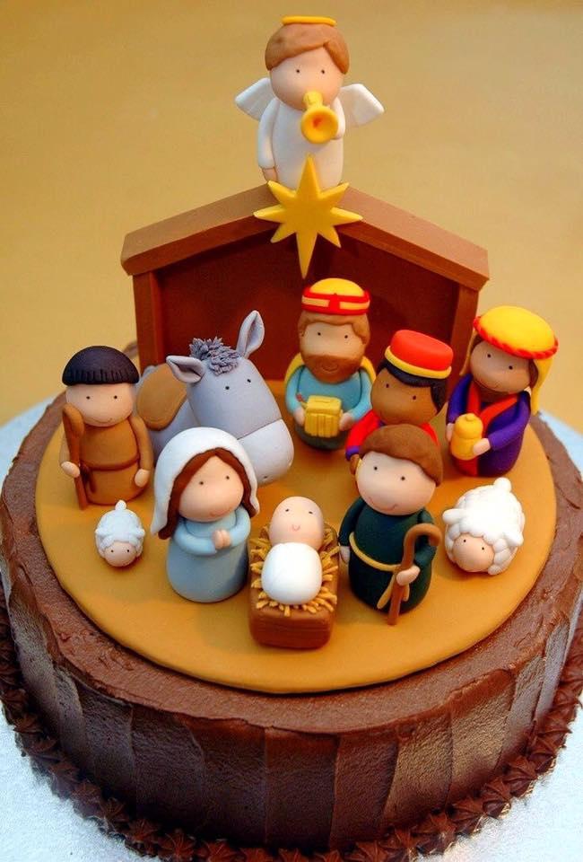 Bonitas tortas para hacer en navidad