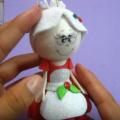 Como Hacer Una Mamá Noel en Foamy o Goma Eva
