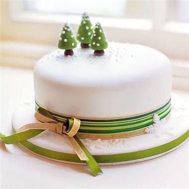 Ideas de pasteles o tortas de navidad