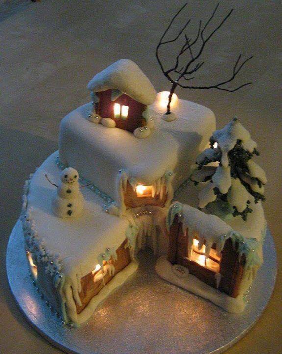 Ideas para hacer tortas de navidad creativas