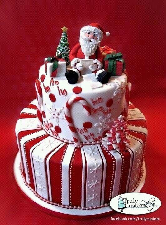 Ideas para tus tortas de navidad