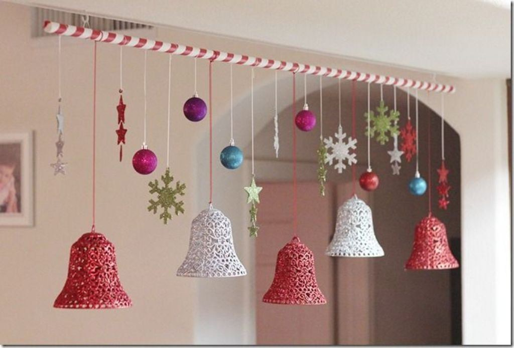 Imagenes con ideas de decoraci n navide a del techo - Decoracion de navidad casera ...