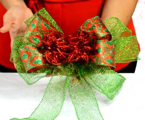 Cómo Hacer Un Hermoso Moño De Navidad