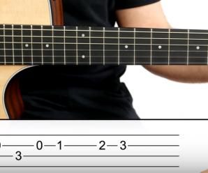 Cómo Tocar En Guitarra El Villancico Blanca Navidad