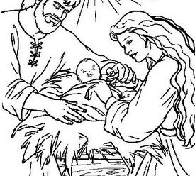 Imagenes Para Colorear De Nacimientos De Jesús De Nazareth