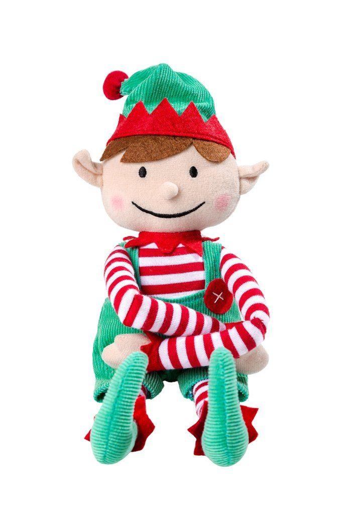 Imagen de un muñeco duende navideño
